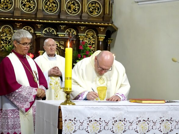 I rocznica kanonicznego objęcia parafii