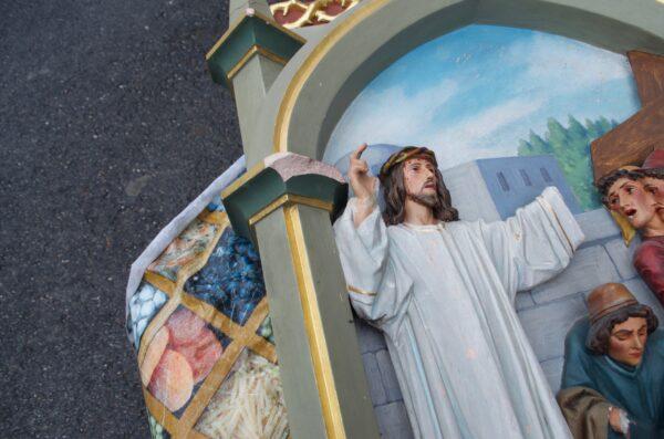 Droga Krzyżowa w kościele parafialnym