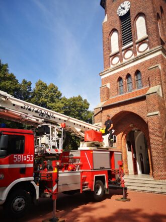 Ćwiczenia Straży Pożarnej (19/08/2020)