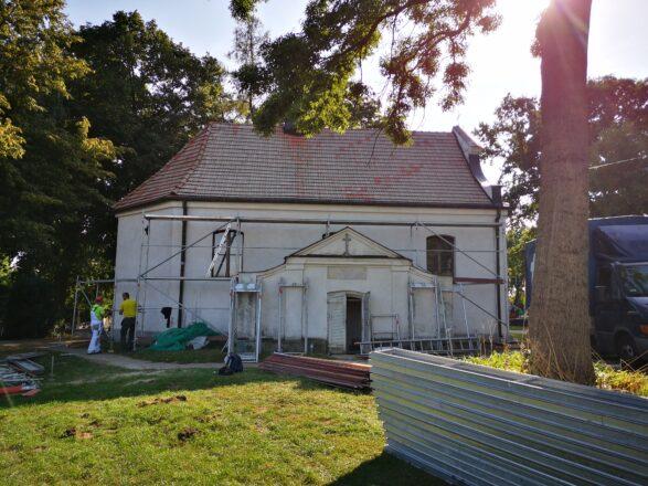 Rozpoczęcie prac przy kościele pw. św. Rocha