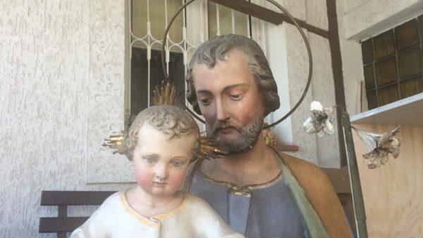 Przygotowanie do uroczystości św. Józefa – figura Szczególnego Patrona naszych czasów