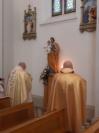 Uroczystość św. Józefa – nowa figura Opiekuna Kościoła
