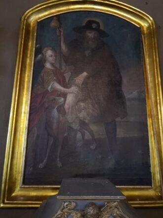Dotacja na prace przy obrazie św. Rocha
