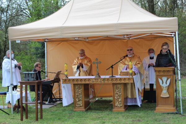 Msza św. za Ojczyznę w Mieczownicy