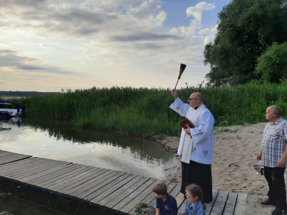 Błogosławieństwo jeziora w Giewartowie
